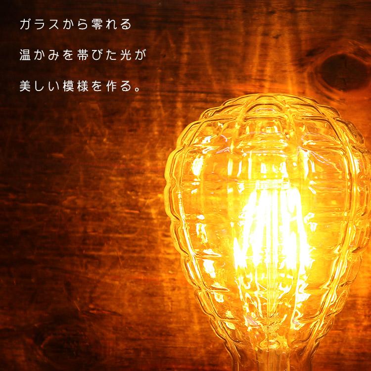 LED 2200K パイナップル型電球 4W(60W相当) BL014