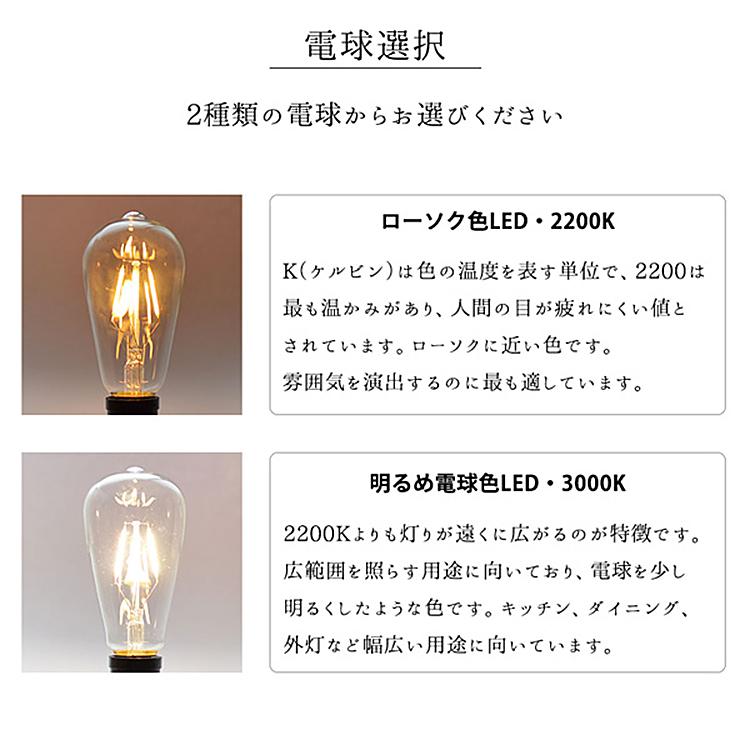 大きな電球型ペンダントライト P005