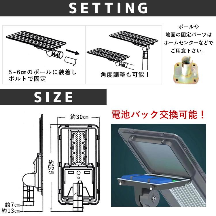 人感センサー付きLEDソーラーライト Z036 でんらい