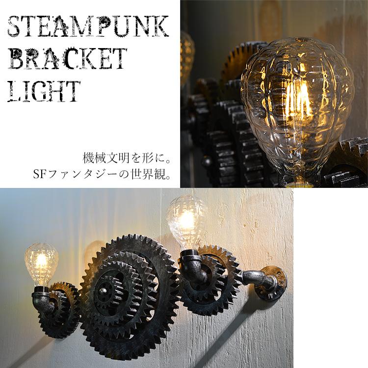 多重歯車式ブラケットライト 特殊電球型LED|WH001-PINEAPPLE