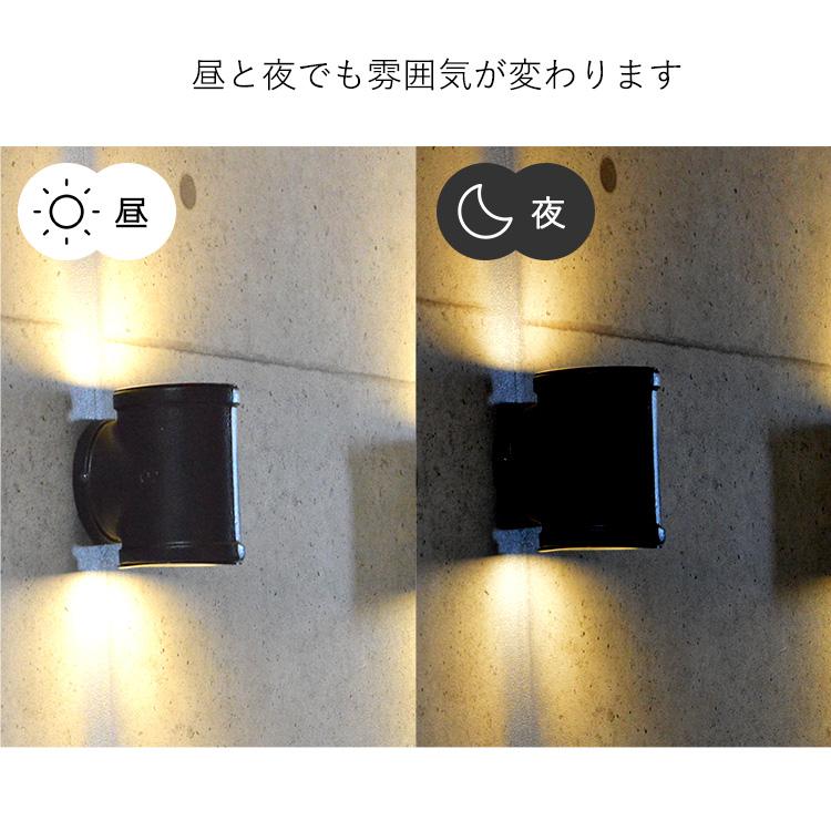 極太配管ダブルブラケットライト|WL018|でんらい