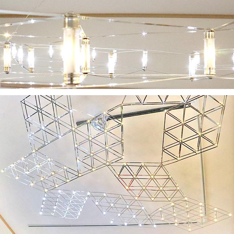 ダイア型カスタム天井照明 P042