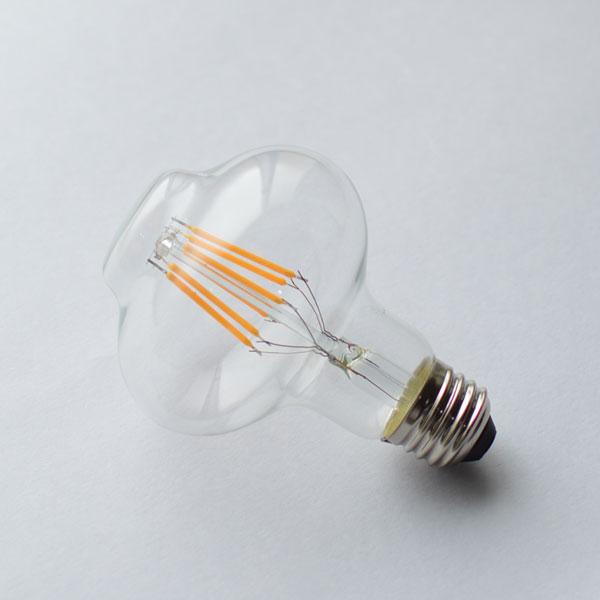 LED 3000K オイルランプ型電球 6W(60W相当) BL017