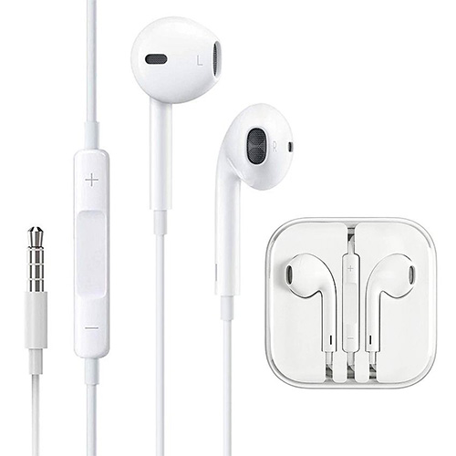 APPLE(アップル)<br>EarPods with 3.5 mm Headphone Plug OMTP規格 海外仕様