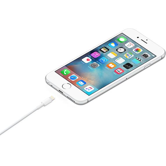 【ゆうパケット発送】APPLE(アップル)<br>MD818AM/A Lightning-USBケーブル 1.0m バルク品 パッケージ無し
