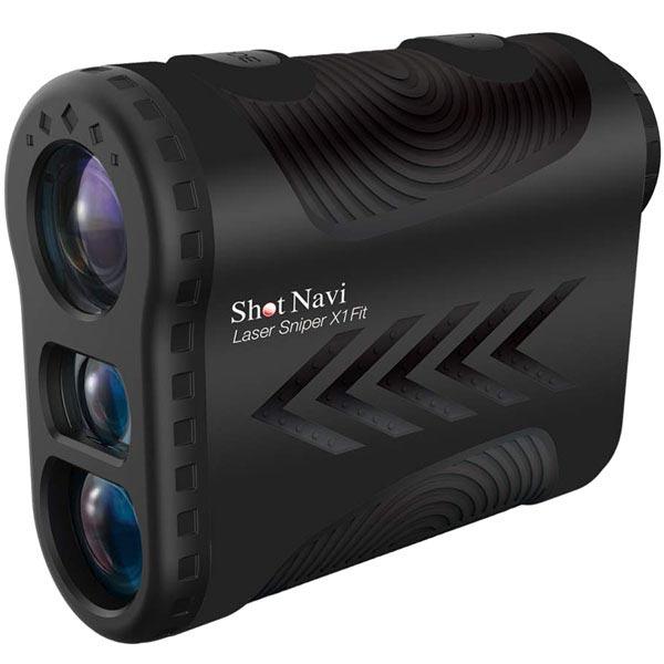 テクタイト(TECHTUIT)<br>ShotNavi Laser Sniper X1 Fit [黒]