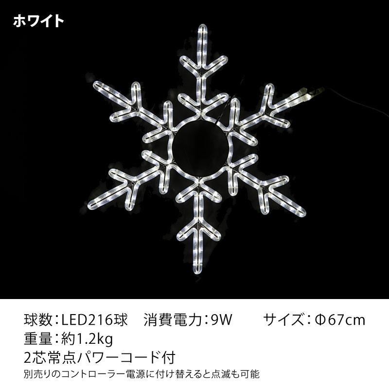 RLプロフェッショナルLED 2芯 スノーフレーク2