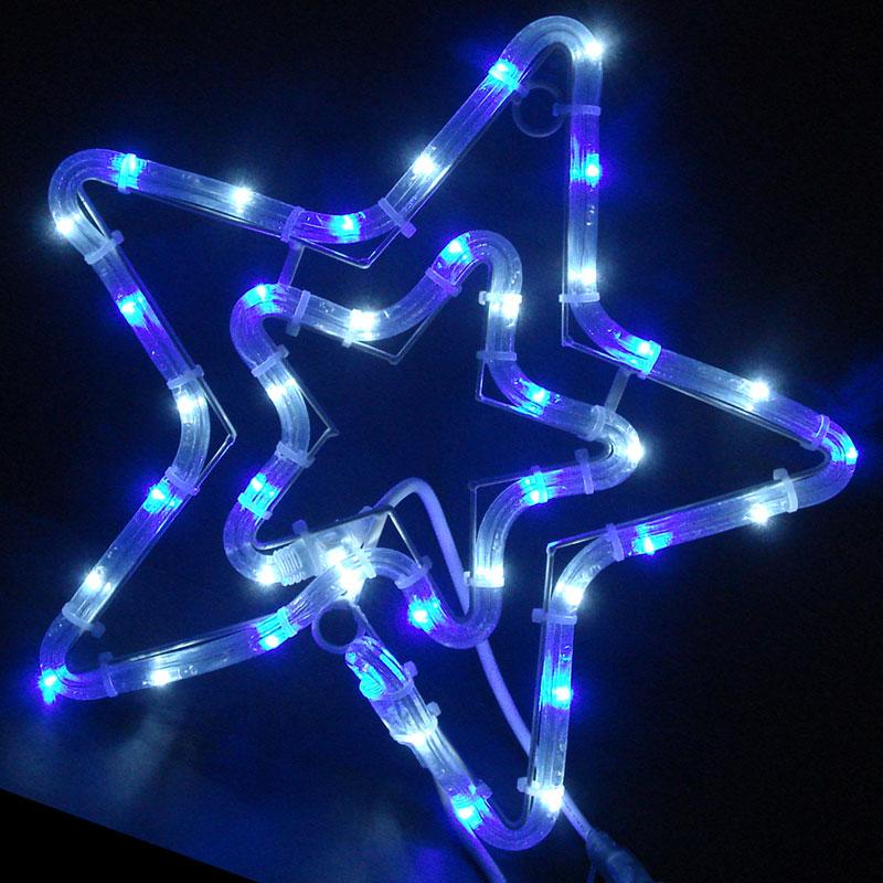 コロナ防雨型LED コントローラー付 チューブスター 白・青色