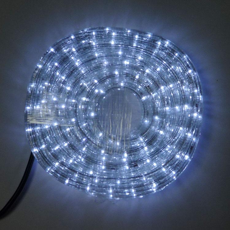 SDK LEDロープライト8ICコントローラー付き 白10mセット