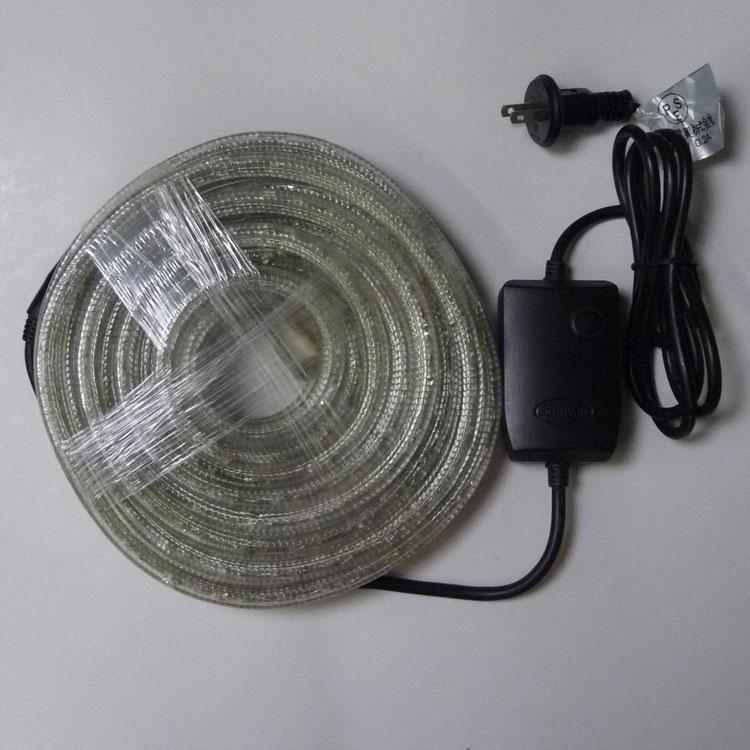 SDK LEDロープライト8ICコントローラー付き 青10mセット