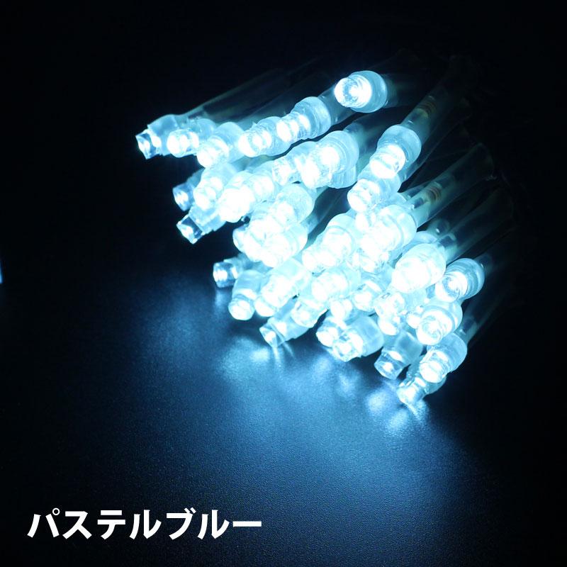 RLプロフェッショナルLED 2芯 100球ストリングライト 電源部別売 ブラックコード Ver2