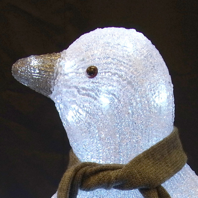 3Dモチーフ ペンギンファミリー