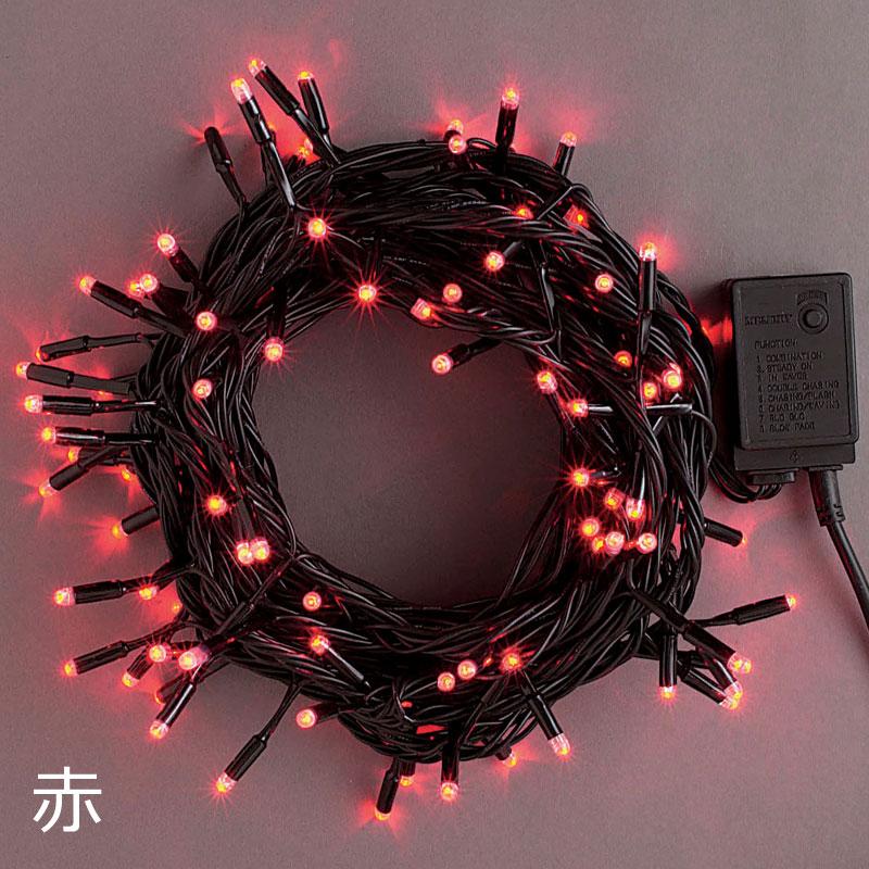 コロナLEDストレートコード50球 コントローラー付 PSE適合品 3線式2回路