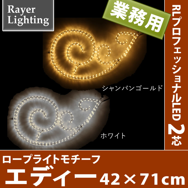 【メーカー直送・代金引換不可】RLプロフェッショナルLED 2芯 2Dモチーフ エディー