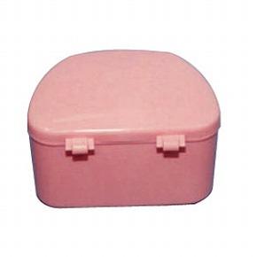 抗菌加工入れ歯ケース 大 (ピンク)《単品の代引き注文不可》