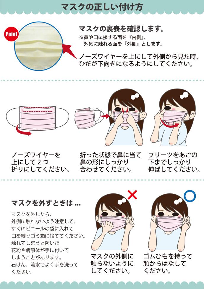 リセラマスクII(Sサイズ:90×145mm) / ピンク / 1箱(50枚入り) マスク 不織布 不織布マスク