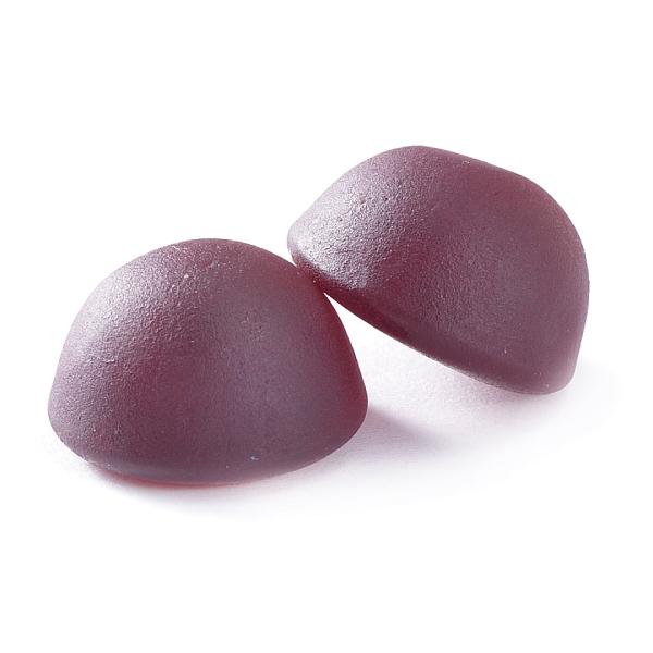 【歯科用】歯医者さんからのリカルグミ ぶどう味 1袋(お徳用100粒入り)