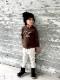 スヌーピー 親子ペア お揃い 波乗りスヌーピーロンT(80cm 90cm 100cm 110cm 120cm 130cm 140cm 150cm)スヌーピー PEANUTS 長袖Tシャツ 20AW