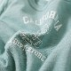 親子ペア お揃い ペアルック 長袖 TシャツCALIFORNIA BOY スラブ天竺ロンT(S M L)ジュニア レディース メンズ ユニセックス【メール便可】