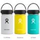Hydro Flask[ハイドロフラスク]12 oz Wide Mouth ステンレスボトル(354ml) メール便不可 5089021