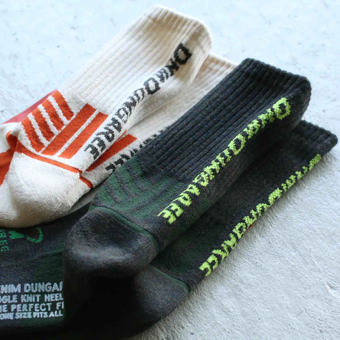デニム&ダンガリー DENIM DUNGAREE D&DトレッキングSOX(M L LL)ソックス 靴下 1足 【3足までメール便可】