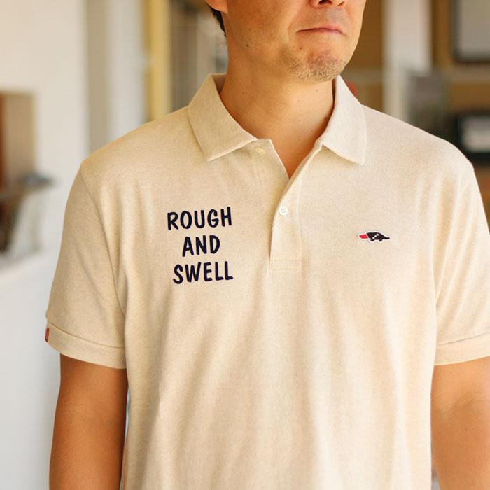 【送料無料】rough&swell ラフ&スウェル  SAM ポロシャツ(M L XL) サムポロシャツ メール便不可RSM-18019