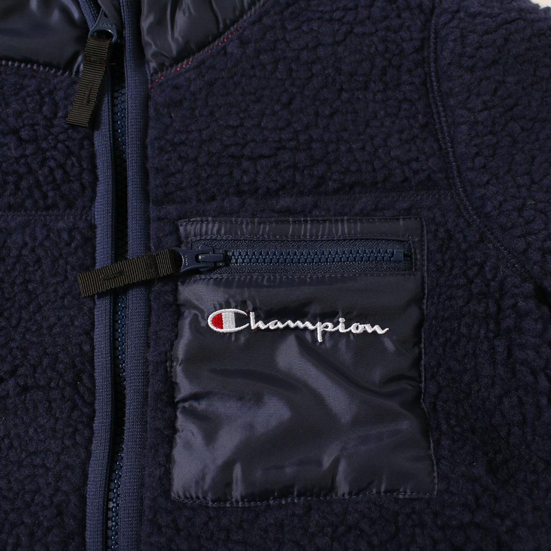 Champion チャンピオン 【送料無料】  ボアフルジップスタンドジャケット(100cm 110cm 120cm 130cm 140cm) キッズ メール便不可