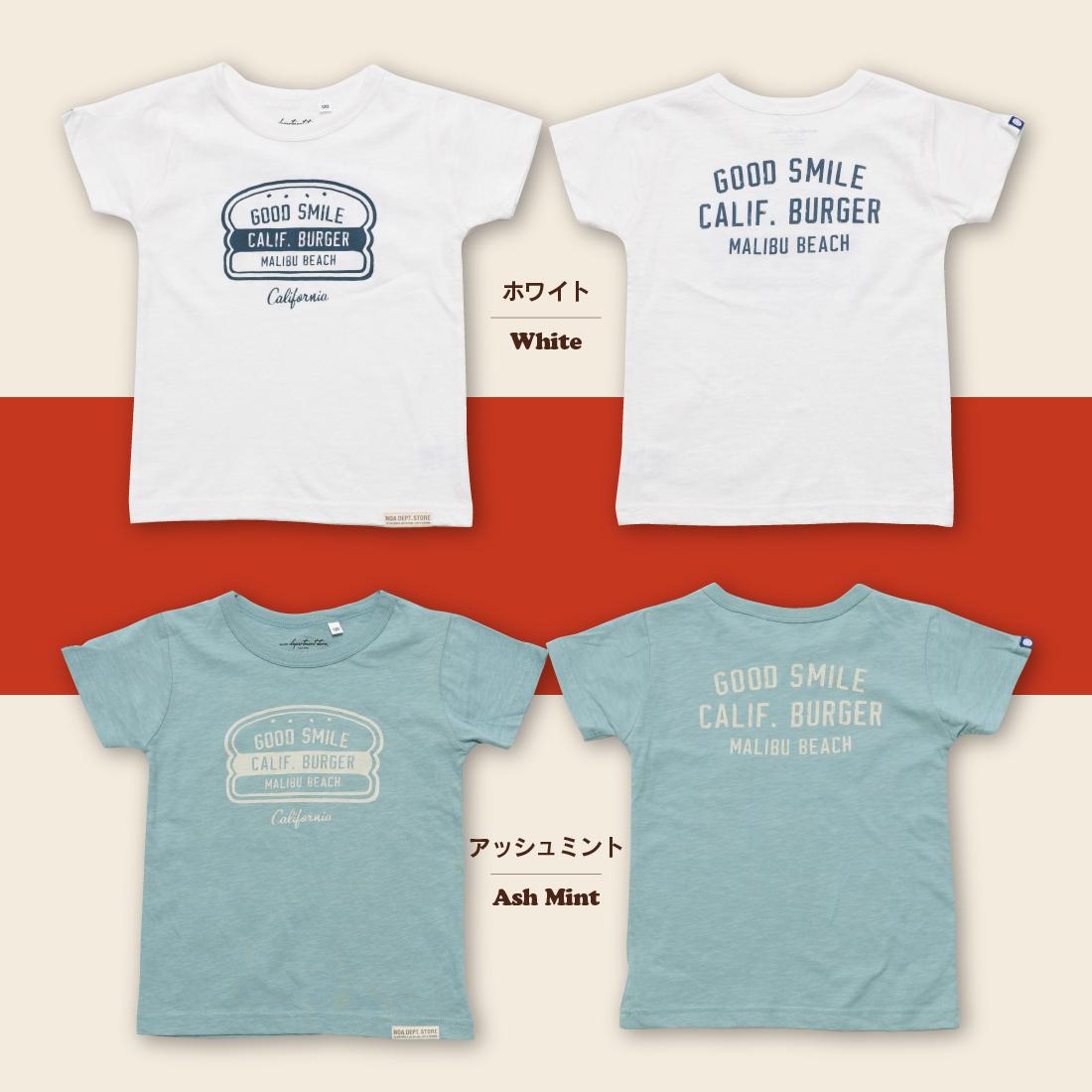 noa department store. Holidaysシリーズ GOOD SMILE Tシャツ(80cm 90cm 100cm 110cm 120cm 130cm 140cm 150cm)子供服 半袖 Tシャツ