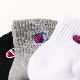 Champion チャンピオン 靴下 くつした キッズ ジュニア レディースクウォーターレングス ソックス刺繍3Pセット(19-24cm)3足セット【メール便可】