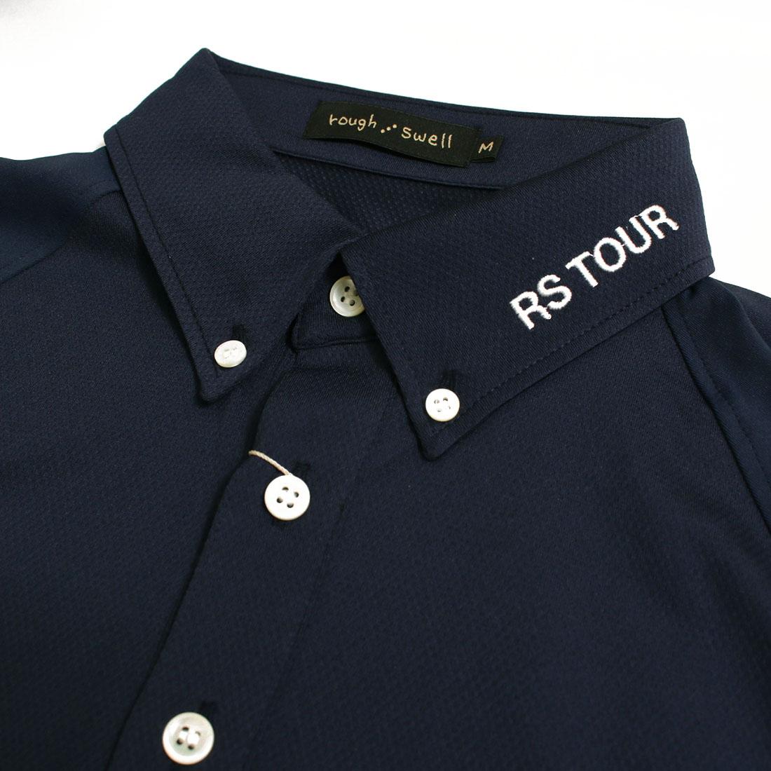 rough&swell ラフ&スウェル 【送料無料】○新作○FLAG TOUR POLO(M L XL)半袖ポロシャツ メール便不可