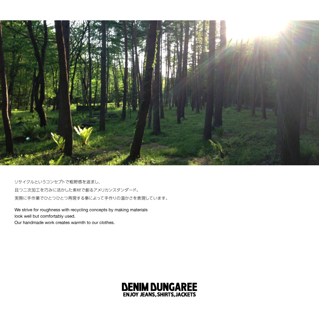 デニム&ダンガリー DENIM DUNGAREE  テンジク スタイ(F)【メール便可】908001