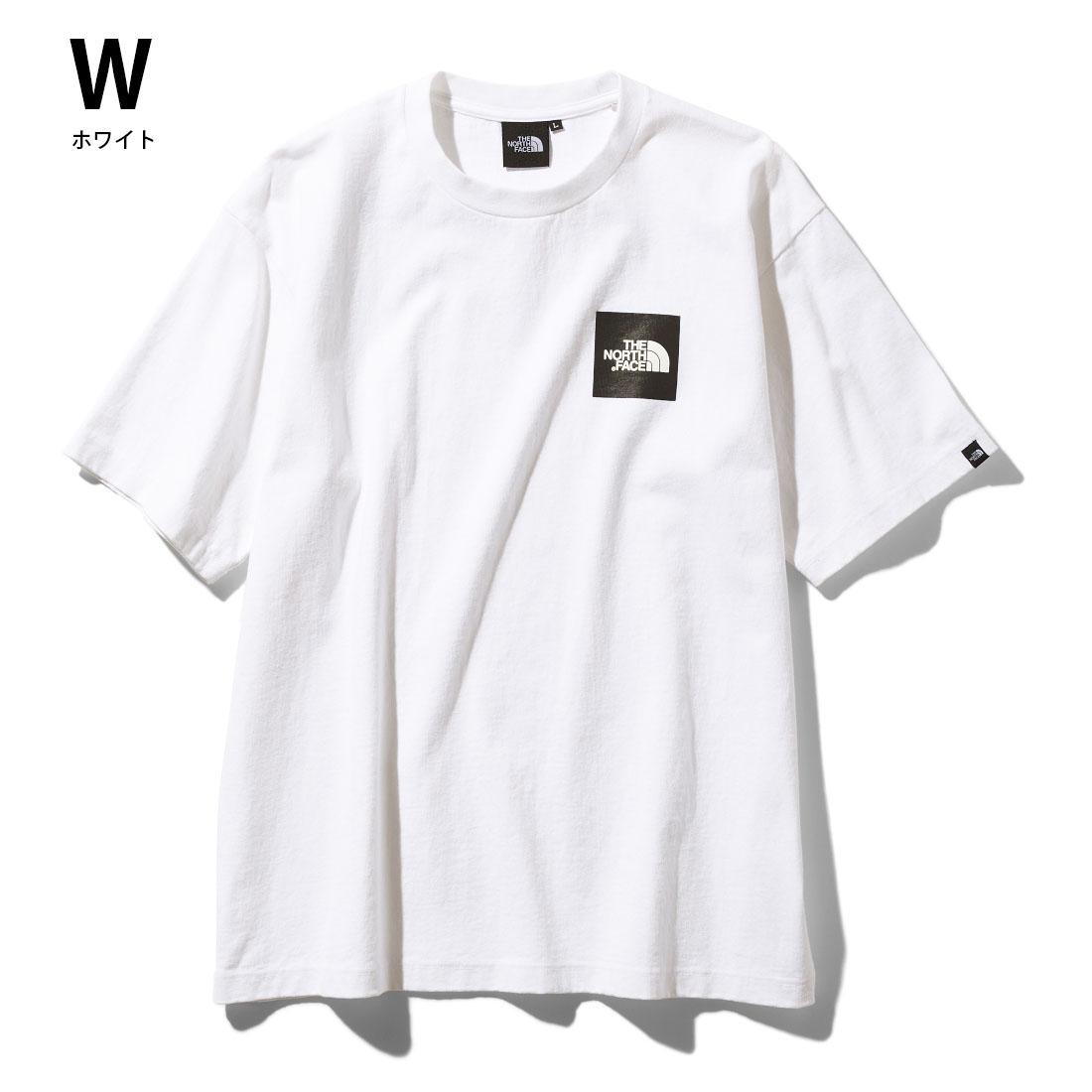 ノースフェイス THE NORTH FACE 【送料無料】○新作○S/S Square Logo Tee(M L XL)半袖Tシャツ【メール便可】