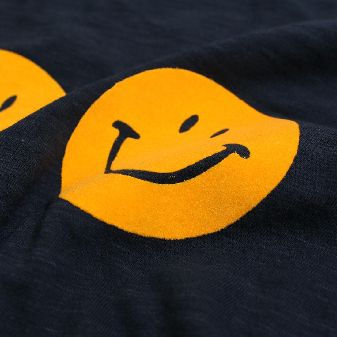 rough&swell ラフ&スウェル 【送料無料】 3 SMILES TEE(M L)半袖Tシャツ メール便不可