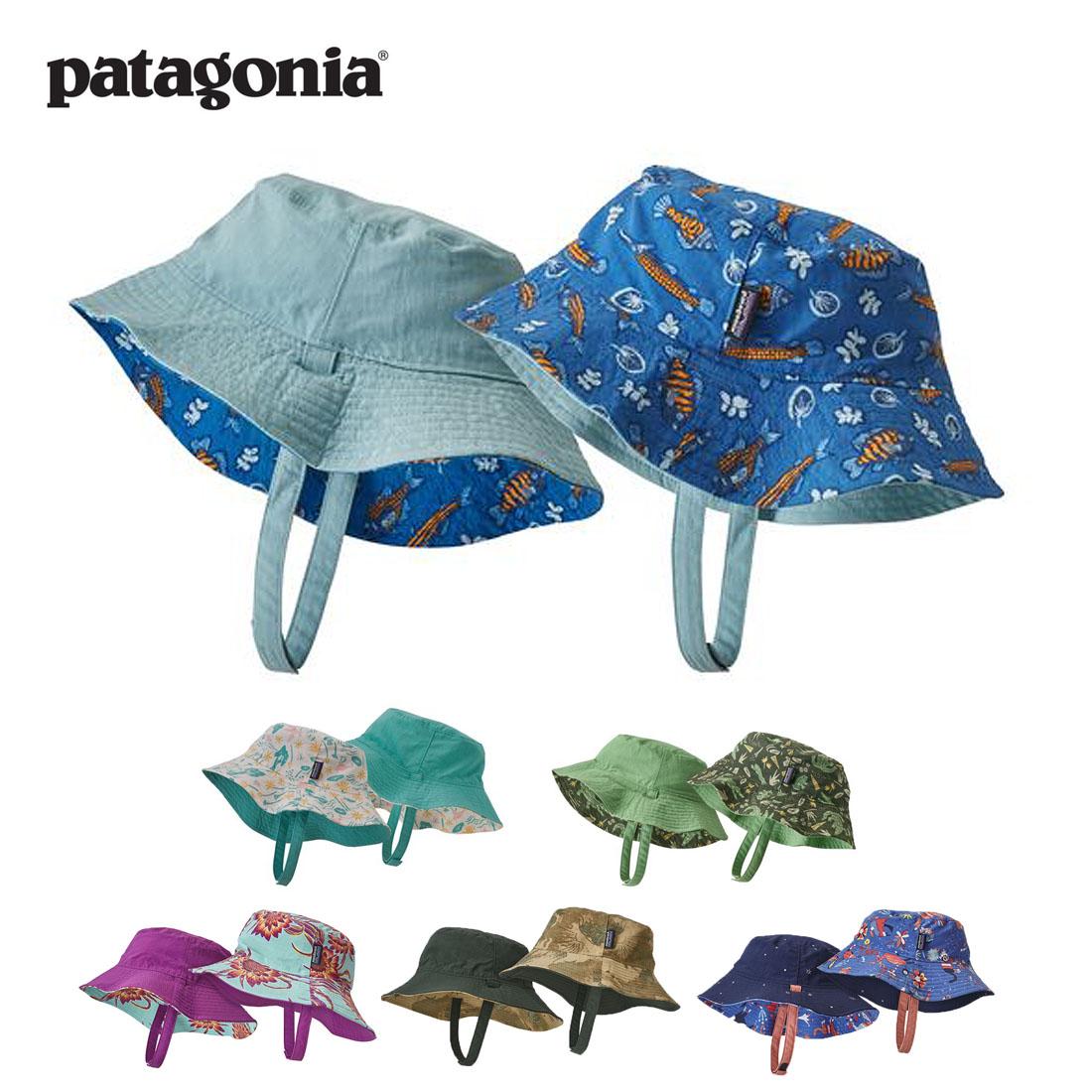【正規取扱店】パタゴニア patagonia キッズ Baby Sun Bucket Hat(24M/24ヵ月 5T/5歳) ベビー・サン・バケツ・ハット 帽子 【メール便可】