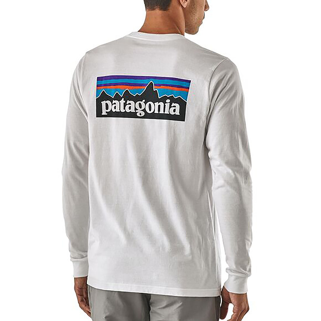 パタゴニア  Patagonia メンズ M's L/S P-6 Logo Responsibili-Tee (S)メンズ・ロングスリーブ・P-6ロゴ・レスポンシビリティー 長袖ロンT メール便不可