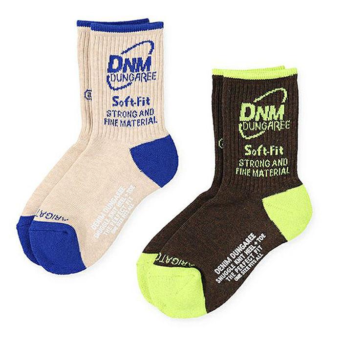 デニム&ダンガリー DENIM DUNGAREE  DENIM DUNGAREE OFFICIAL SOX(M L LL)ソックス 靴下 1足 【3足までメール便可】