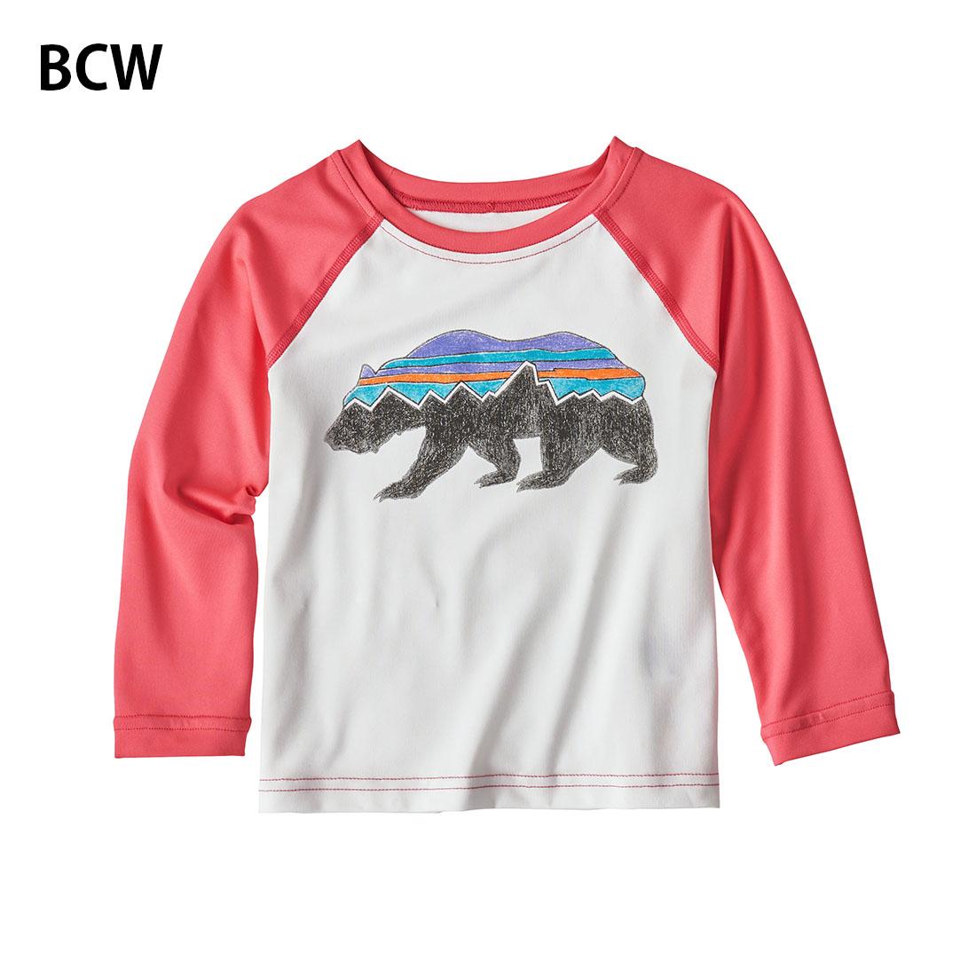 パタゴニア patagonia キッズ Baby Cap SW Crew(4T/4歳)ベビー・キャプリーン・シルクウェイト・クルー  ラッシュガード【メール便可】60017
