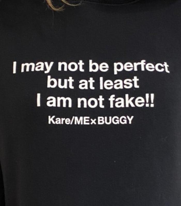 【Kare/ME×buggy(カーミーバギー)】コラボパーカーY★☆