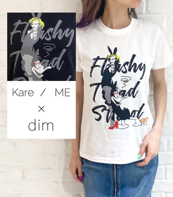 【Kare/ME×dim(カーミー×ディム)】バニーガールプリントカットソー★☆