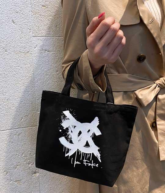 【Kare/ME×buggy-カーミー・バギー-】コットンミニキャンバスバッグC★☆