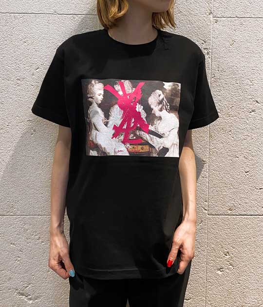 【Kare/ME×buggy(カーミーバギー)】ロゴプリントTシャツY★☆