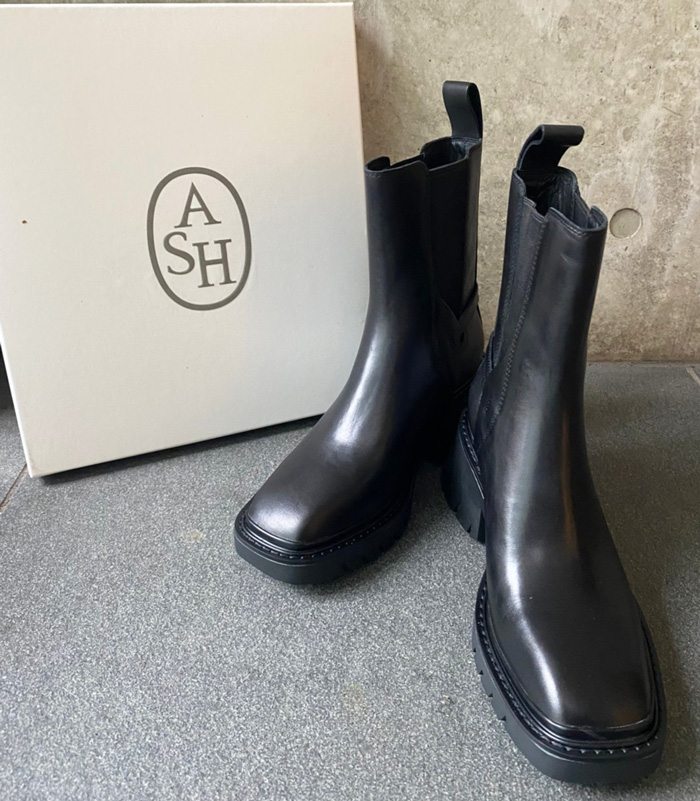 【ASH(アッシュ)】サイドゴアブーツ★