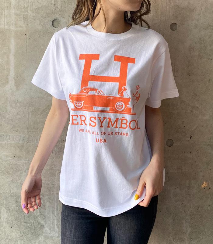 【Kare/ME×dim(カーミー×ディム)】マリリンロゴHプリントカットソー★☆