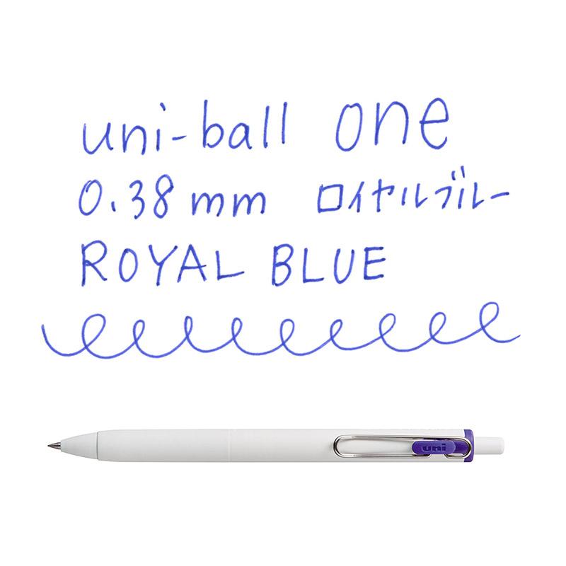 三菱ユニ ユニボールワン 0.38│名入れボールペン