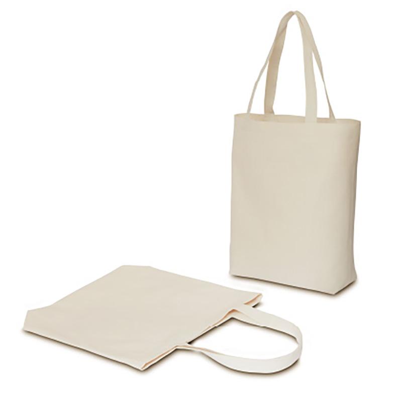 ライトキャンバスバッグ[B4程度/中厚手/底マチ]│名入れエコバッグ