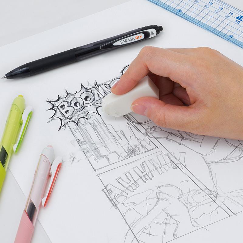 ゼブラ サラサドライ ホワイト軸 0.4│名入れボールペン