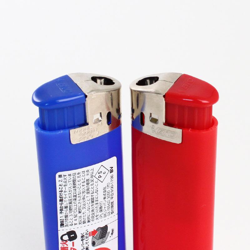 ビック J38電子ライター 白│名入れライター
