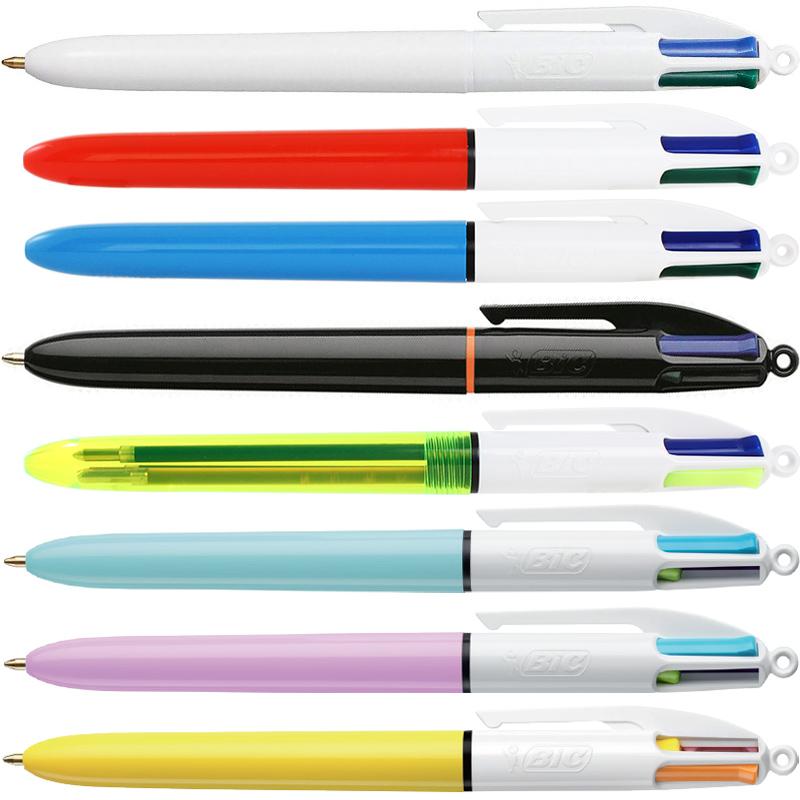 ビック 4色ボールペン│名入れボールペン