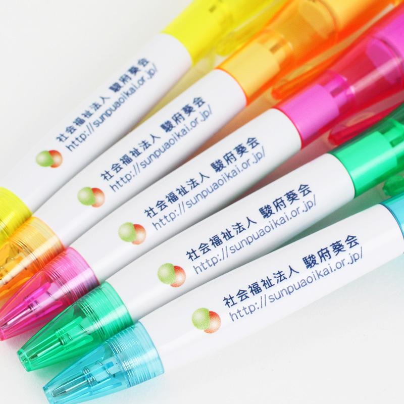 【在庫切れ 7/25頃入荷】ドロップLEDボールペン 【フルカラー無料キャンペーン】│名入れボールペン