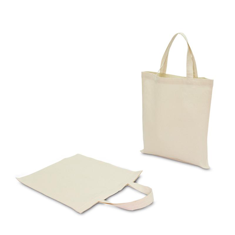 コットンショッピングバッグ[B4程度/薄手/マチ無し]│名入れエコバッグ